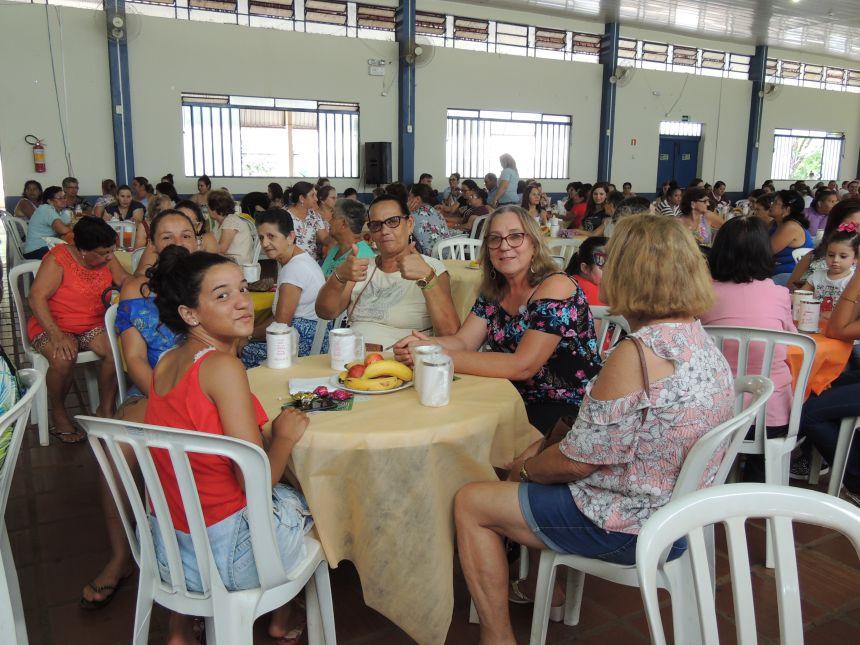 3º Café da Tarde - Dia Internacional da Mulher