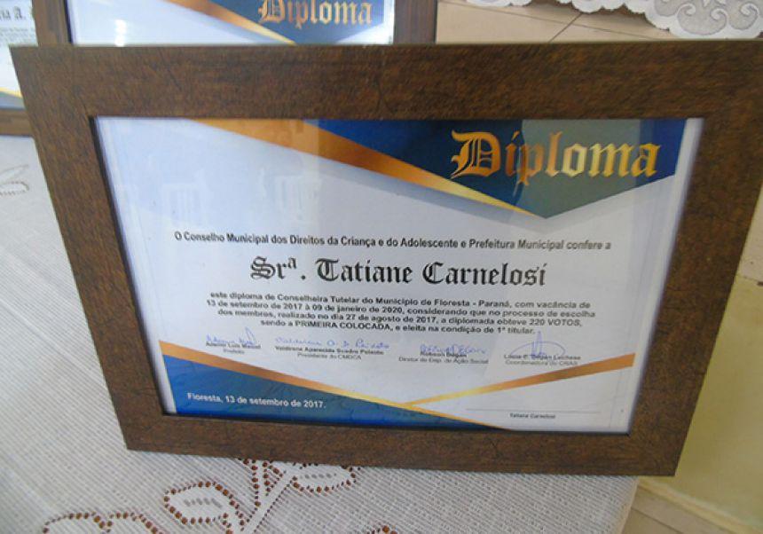 Conselho tutelar: Titulares e suplente, eleitos no dia 27 de agosto são diplomados