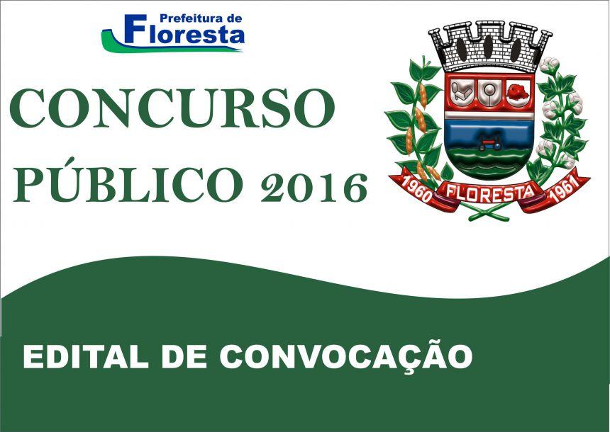 CONFIRA OS EDITAIS DE CONVOCAÇÕES DO CONCURSO PÚBLICO