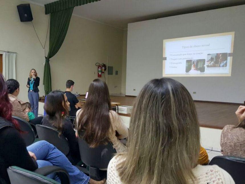 Semana de combate ao abuso sexual infantil contou com ótima palestra
