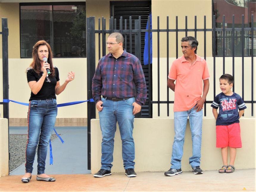 Entrega da 2ª Casa à Família Carente do Município