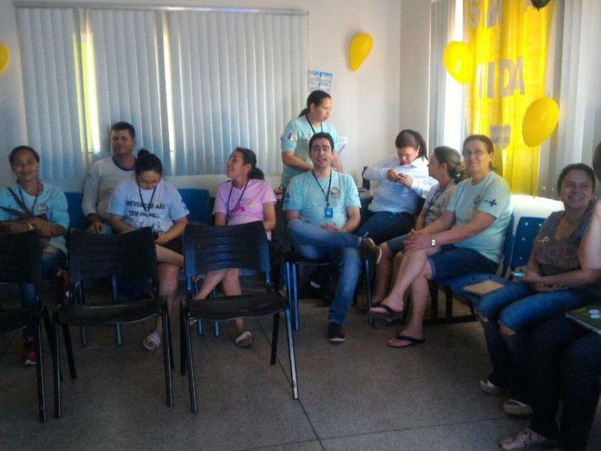 Setembro Amarelo: Equipes de saúde realizam ações voltadas à prevenção de suicídios