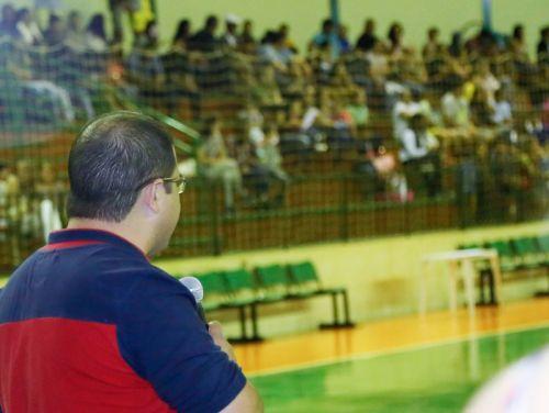 Abertura do Campeonato Municipal de Futsal 2017