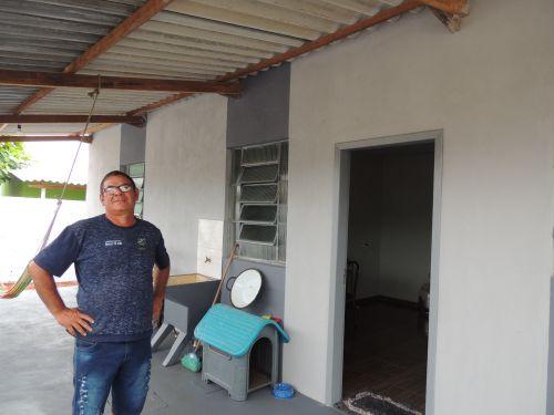 Prefeitura Entrega Reforma de Casa