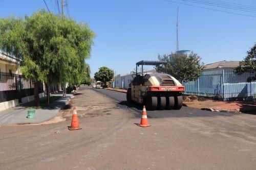 Prefeitura Realiza Recape Asfáltico na Cidade
