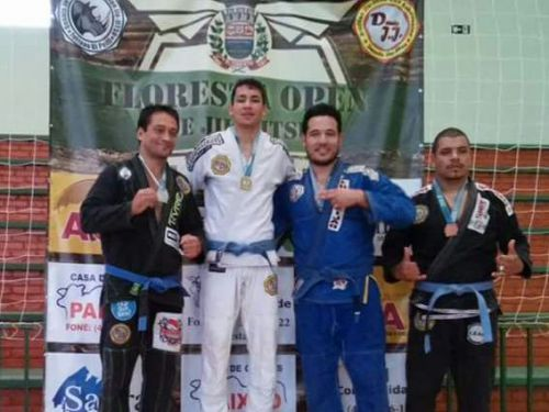 Floresta realiza primeiro campeonato de Jiu-Jitsu