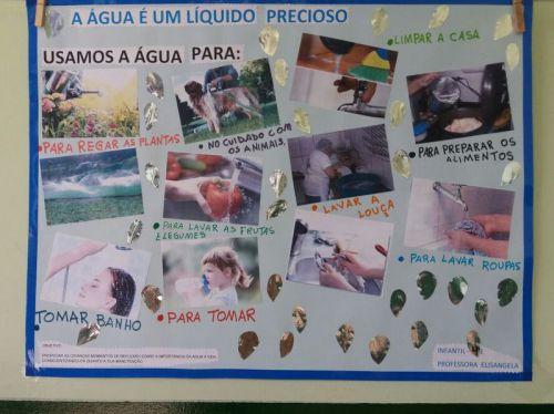Dia da água: escolas municipais realizam ações de conscientização e economia