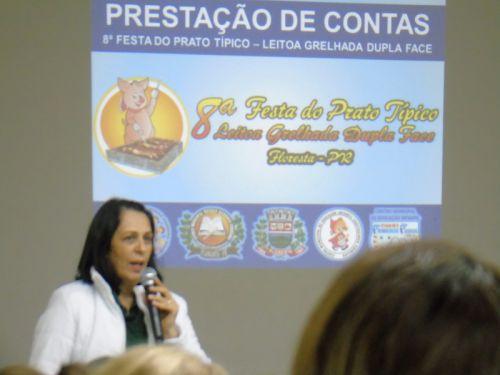Escolas recebem recursos da 8ª Festa do Prato Típico