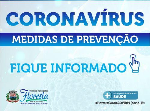 Coronavírus: Prefeito Dê decreta situação de emergência em Floresta; veja as medidas: