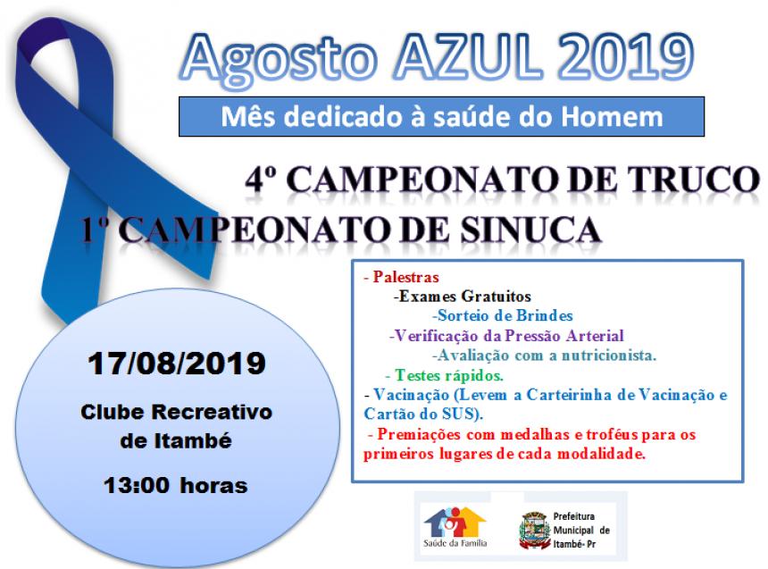 Agosto Azul 2019