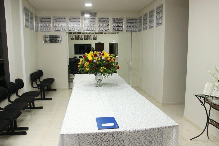 ENTREGA DA OBRA DA CÂMARA MUNICIPAL 2018
