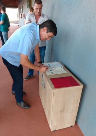 O Serviço de Inspeção Municipal de Produtos de Origem Animal (SIM -POA) de Santo Antônio da Platina têm Selo Reconhecido