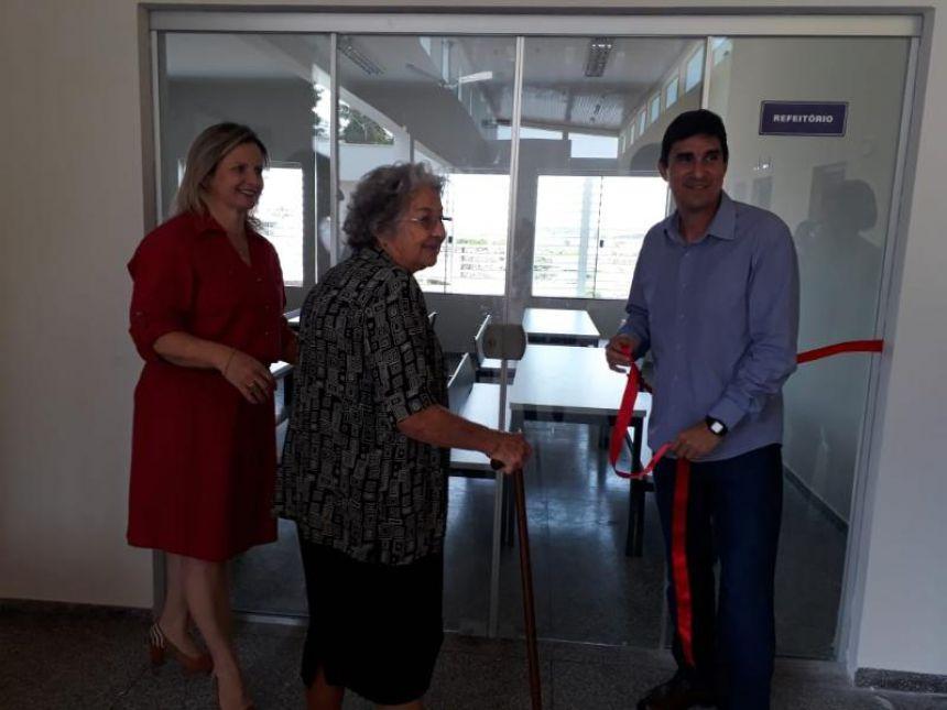 Inauguração do CMEI Professora Therezinha Villani