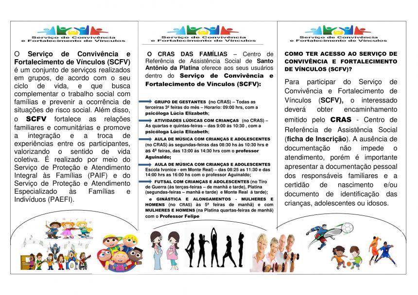 Prefeitura oferece atividades gratuitas