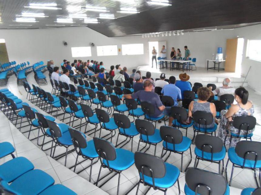 Reunião da Compra Direta da merenda Escolar