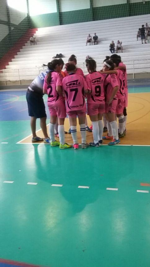 O Futsal Feminino de Santo Antônio da Platina participou da 1ª ETAPA da  Liga Sul Norte de Desportos em Telêmaco Borba