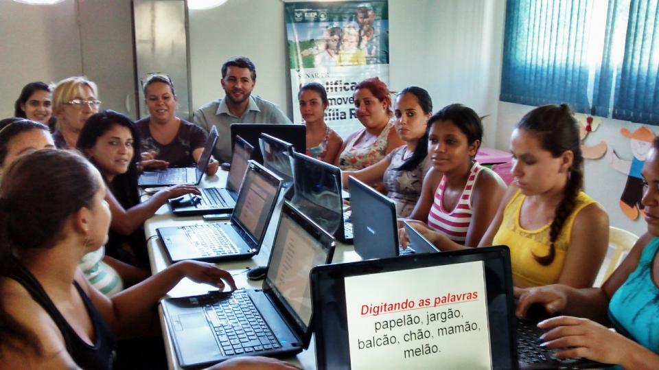 Assistencia Social realiza curso de Inclusão Digital Básico