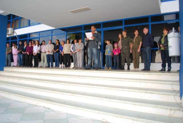 Cerimônia registra 7 de Setembro em Santo Antônio da Platina