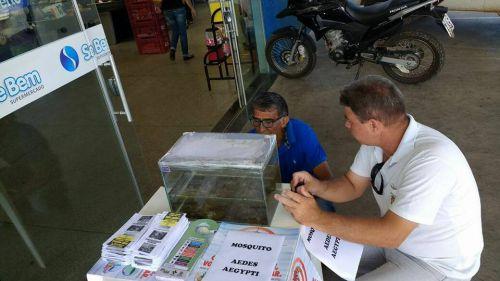 Ação de instrução no Combate a Dengue