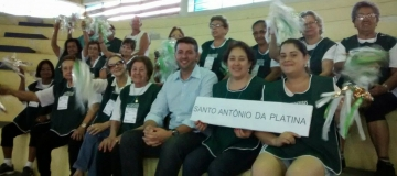 Platinenses participam de competição regional da Melhor Idade
