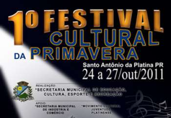 Começa nesta segunda o Festival Cultural da Primavera