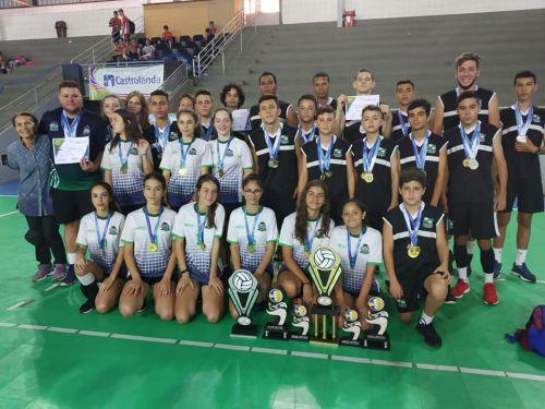 Equipe de Voleibol de Santo Antônio da Platina é Campeã