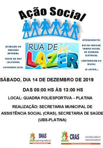 RUA DE LAZER