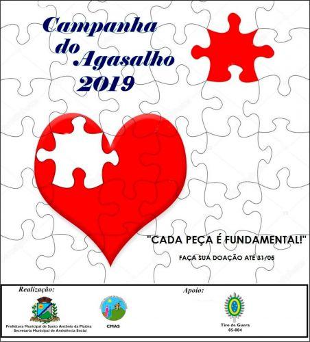 Lançamento oficial da Campanha do Agasalho 2019