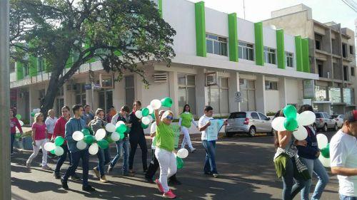 Passeata em Prol ao Dia Nacional da Luta Antimanicomial