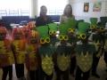 Secretária de educação e coordenadora da educação infantil visitam a Escola Municipal Professora Ophélia