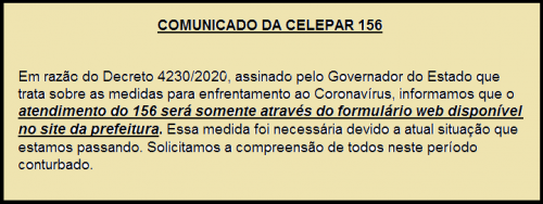 Comunicado 156