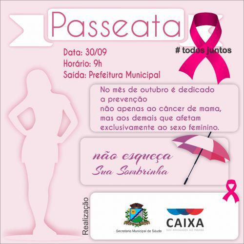 """Passeata """"Outubro Rosa"""""""