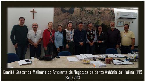 PREFEITO PARTICIPA DE REUNIÃO DO COMITÊ GESTOR DO AMBIENTE DE NEGÓCIOS