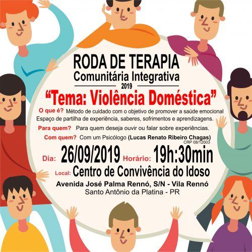 Roda de Terapia Comunitária Integrativa 2019