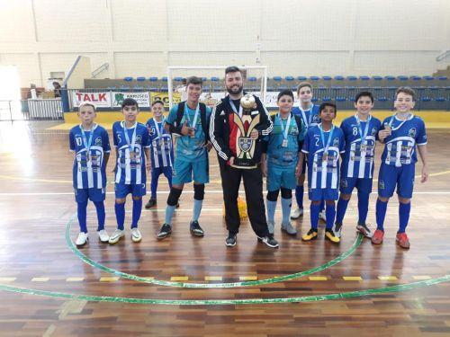 Escolinha de Futsal Platinense é Campeã