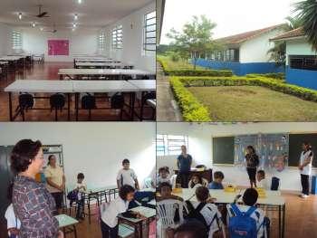 Começaram nesta segunda-feira as aulas em regime integral na Escola Franklin Delano Roosevelt