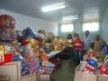 Entrega de brinquedos para os CMEIs