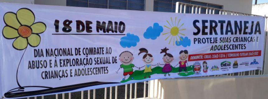 CAMPANHA CONTRA A EXPLORAÇÃO SEXUAL CONTRA CRIANÇAS E ADOLESCENTES