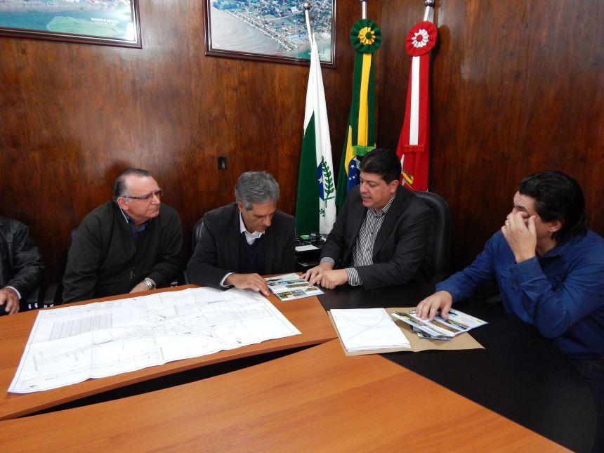 Município recebe a visita do Secretário de Infraestrutura e Logística do Paraná