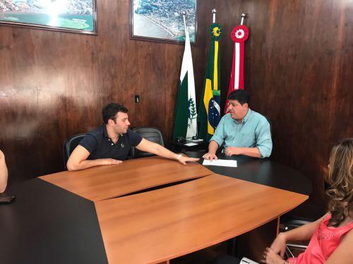 Município recebe visita do Deputado Estadual Evandro Junior
