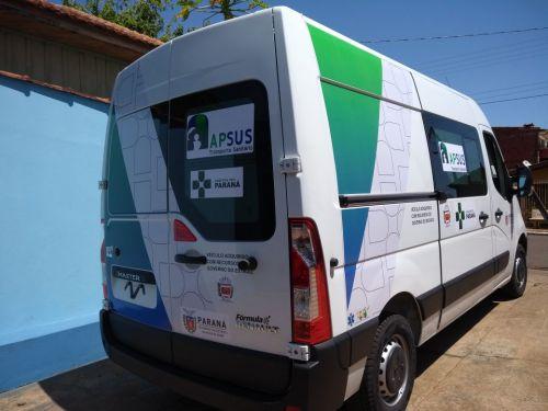 Município de Sertaneja recebe Ambulância e Micro-ônibus