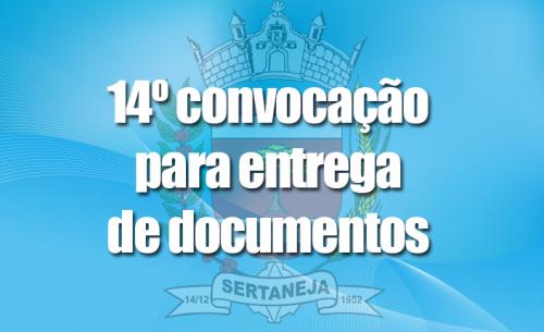 Convocação para entrega de documentos