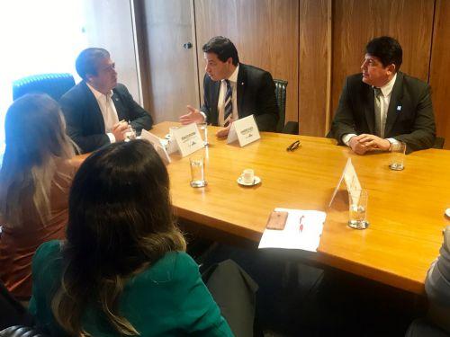 Prefeito participa de Audiências em Ministérios em Brasília