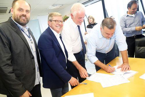 Governo do Estado e Prefeituras assinam Plano de Trabalho para a Construção de 303 Casas Populares.