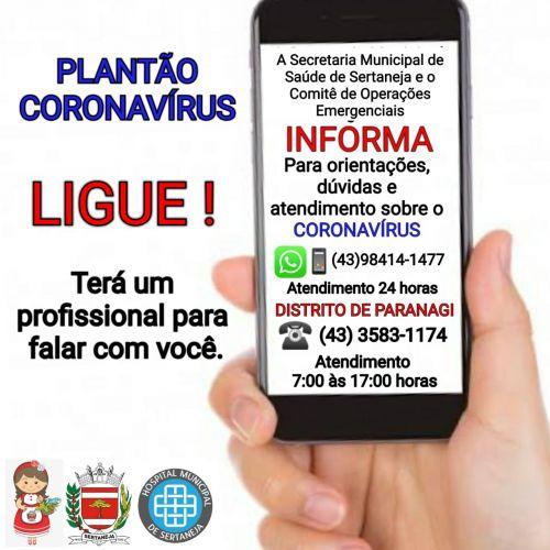 Saúde disponibiliza número de telefone para orientações, dúvidas e atendimento
