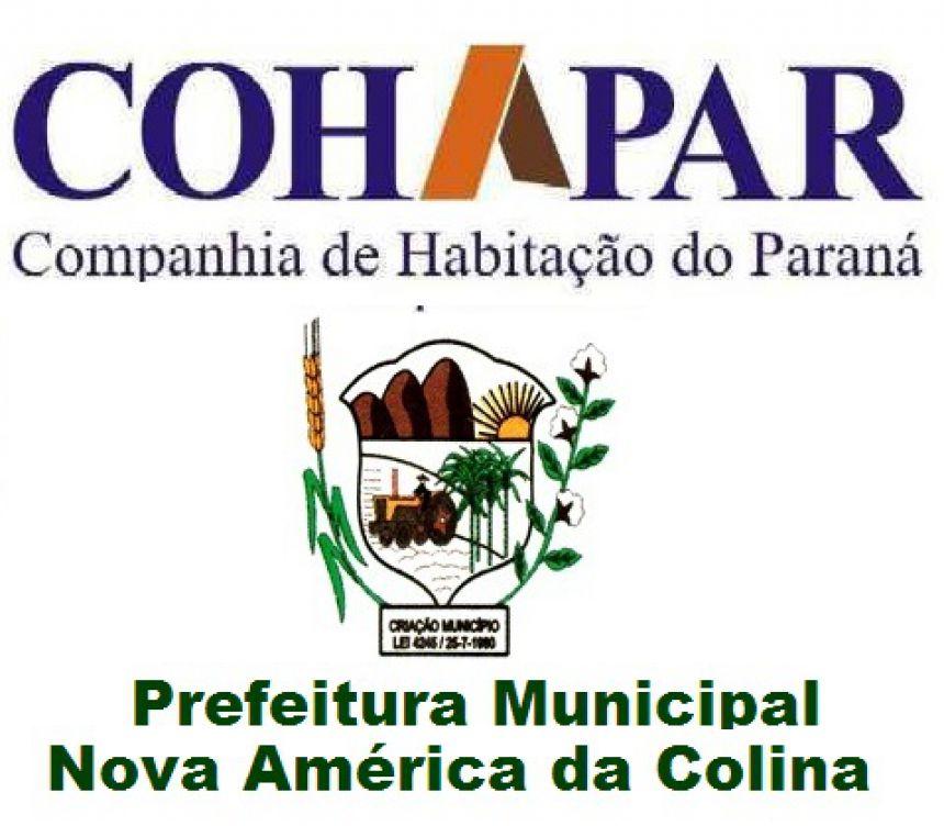 COHAPAR E PREFEITURA DE NOVA AMÉRICA DA COLINA REALIZAM CADASTRAMENTO GERAL