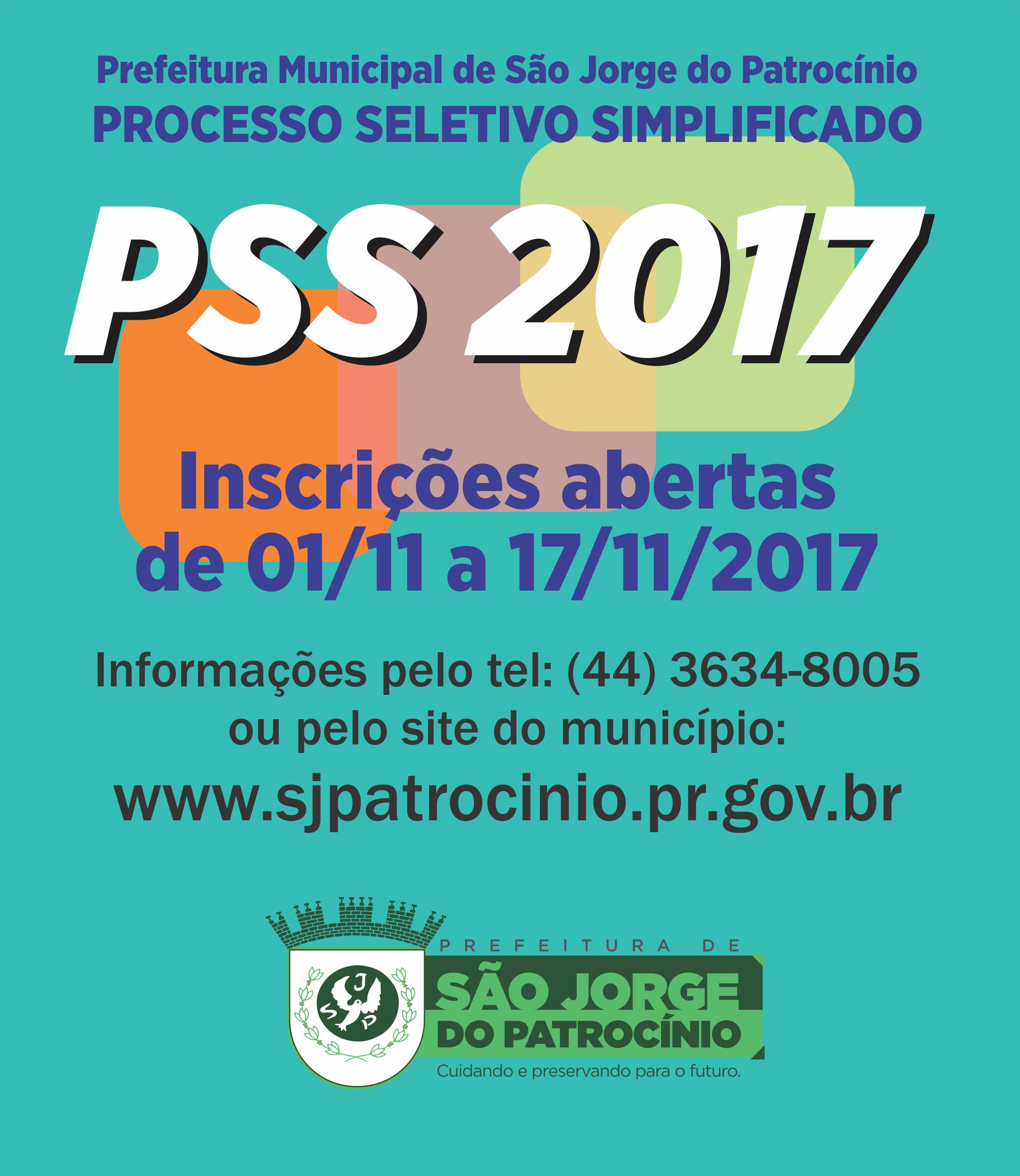 PREFEITURA MUNICIPAL DÁ INÍCIO AO PROCESSO SELETIVO SIMPLIFICADO - PSS