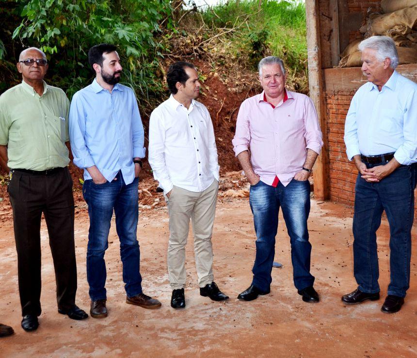 RUBENS BUENO VISITA MUNICÍPIO E PRESTA CONTAS
