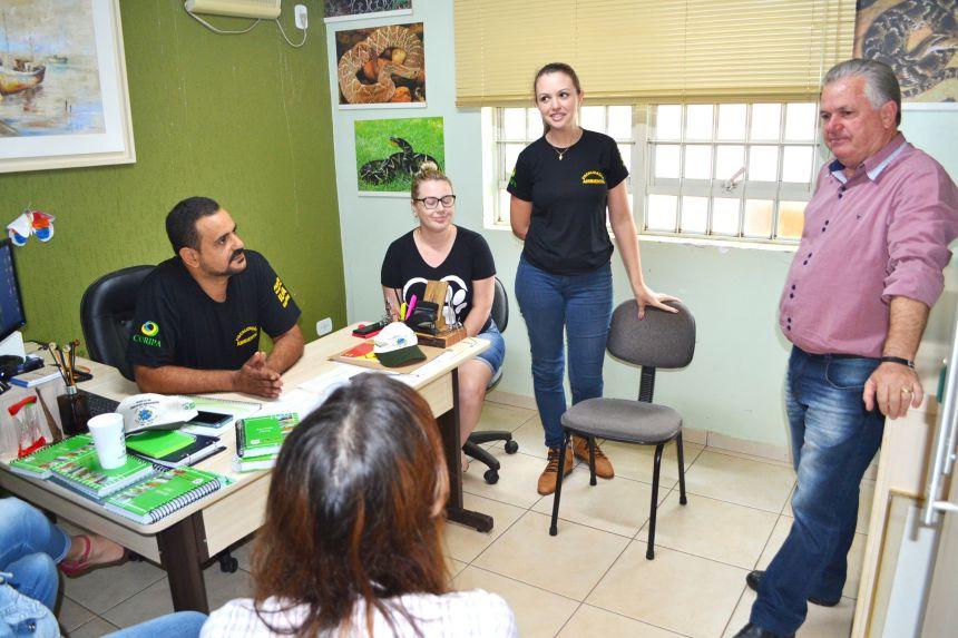 EQUIPE DE QUERÊNCIA DO NORTE APRECIA ATIVIDADES DE EDUCAÇÃO AMBIENTAL