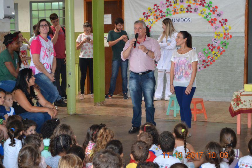 SÃO JORGE DO PATROCÍNIO PROMOVE ATIVIDADES NA SEMANA DA CRIANÇA